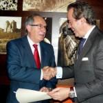 Entrega de la medalla de oro de la RFHE a D. Jose Ignacio Merladet