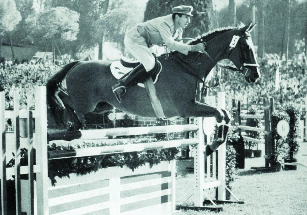 Raimondo d'Inzeo_Posilippo-individual Olympic Jumping champion-Rome 1960
