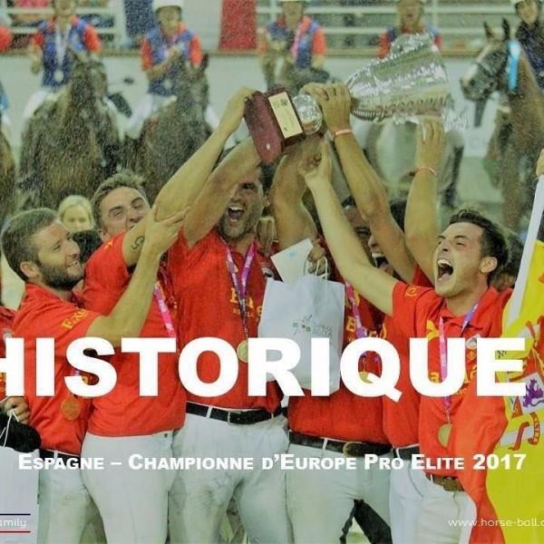 Primer ORO continental para el Horseball español