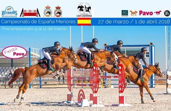 Cuadro de Honor de los Campeonatos de España de Menores de Saltos de 2018