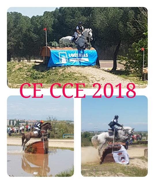 Albert Hermoso, Blanca Garcia y Gonzalo Rguez-Grande, Campeones de España de CCE 2018