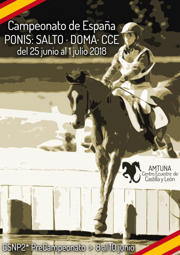 Cuadro de Honor de los Campeonatos de España de Ponis