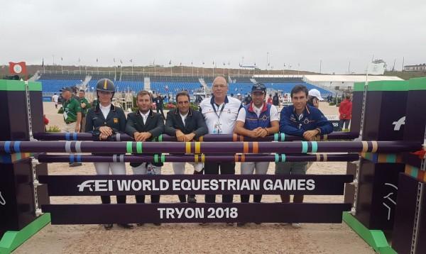 El equipo español de Concurso Completo concluye 14º en Tryon.