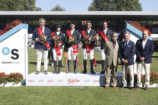 Victoria de España en la Copa de Naciones del CSIO de Gijón