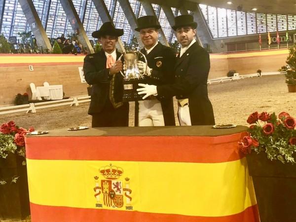 Cristóbal Belmonte ganador Copa S.M. El Rey Doma Clásica 2018 en el Club de Campo Villa De Madrid
