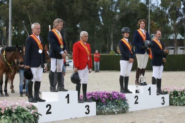 Pineda acogió un exitoso Campeonato de España de Veteranos de Saltos