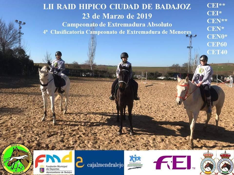 Raid de Badajoz 2019