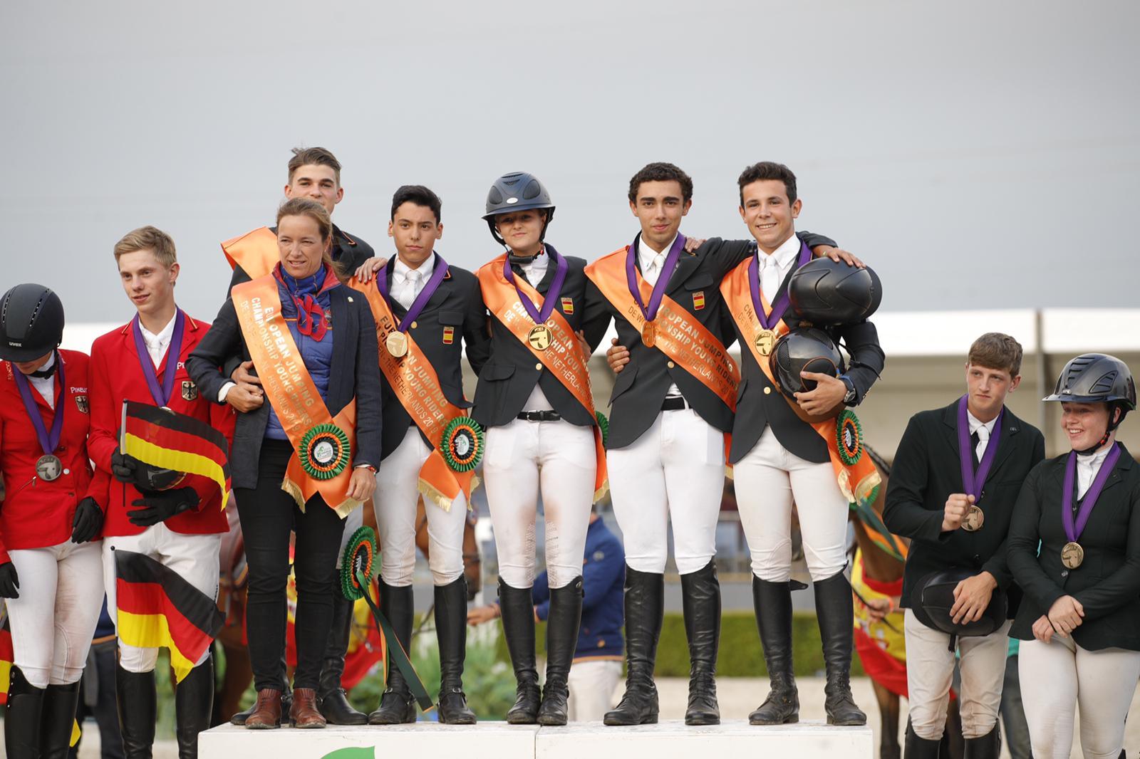 Saltos Cto Europa Junior 2019 medalla