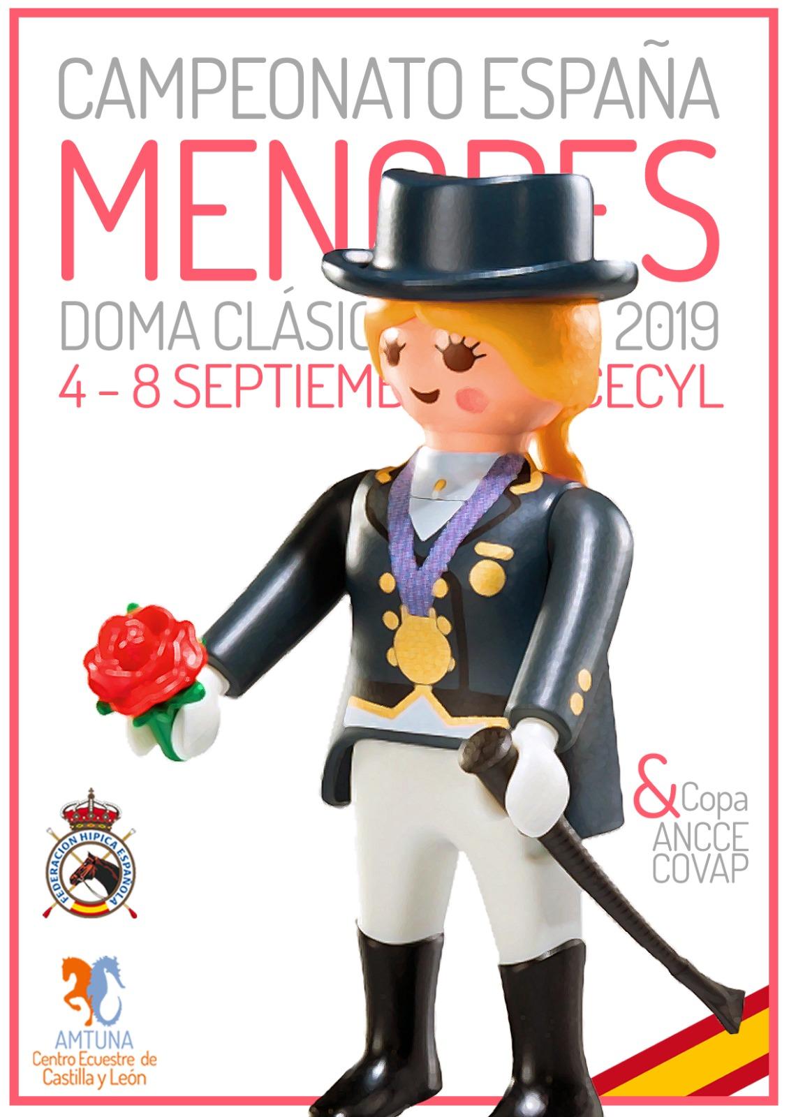 Doma Clasica Cto Espana Menores 2019 CECyL