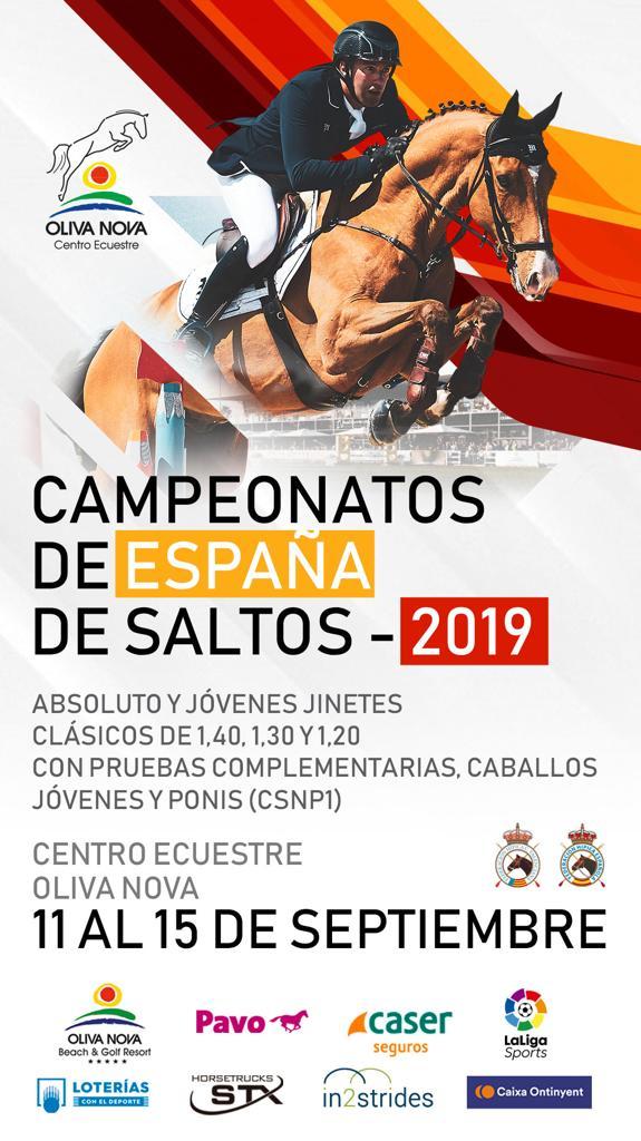 Saltos Cto Espana 2019 Cartel