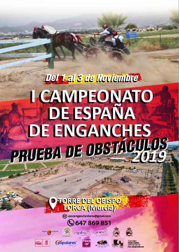 Enganches Cto Espana Prueba Obstaculos 2019
