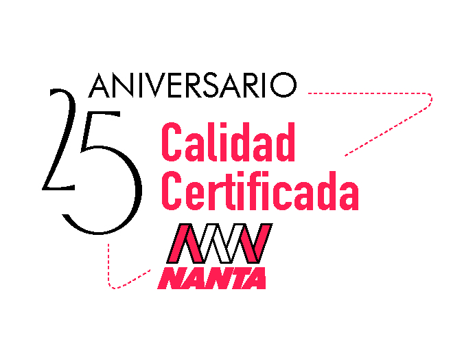 Logo NANTA CALIDAD CERTIFICADA 25