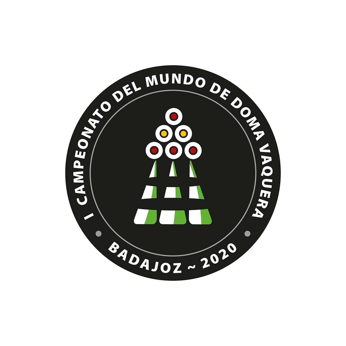 Doma Vaquera Logo Campeonato del Mundo