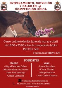 Cursos de Formacion Entrenamiento Salud y Nutiricion de la FH de Murcia